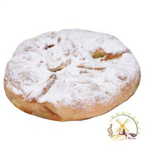 Plăcintă rotundă cu dovleac și mac
