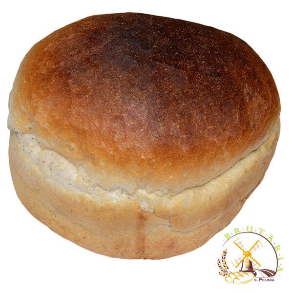 Pîine rotunda de casă, albă
